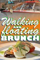 Walking and Floating Brunch